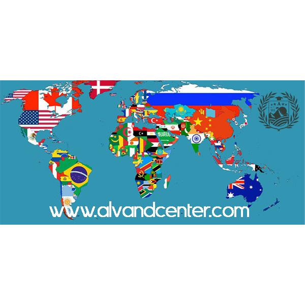 ملیت کشورها به عربی و انگلیسی