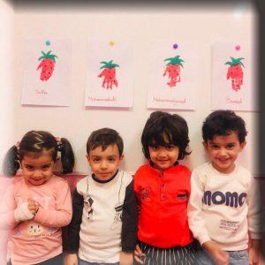 آموزش زبان ویژه سنین 2 , 3 , 4 , 5 و 6 سال