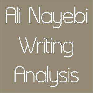 تصحیح رایتینگ علی نایبی