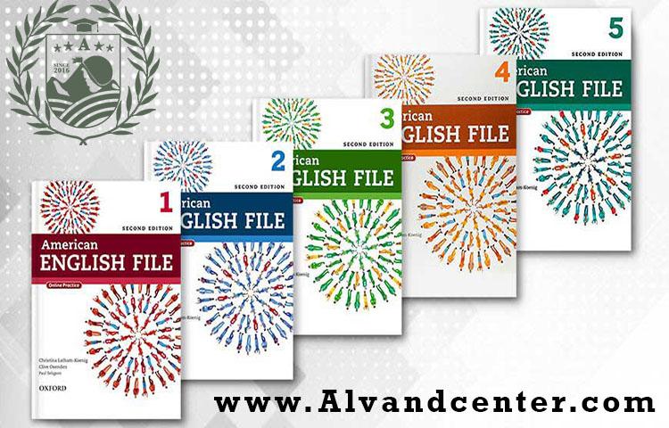 معرفی کتاب های American English File
