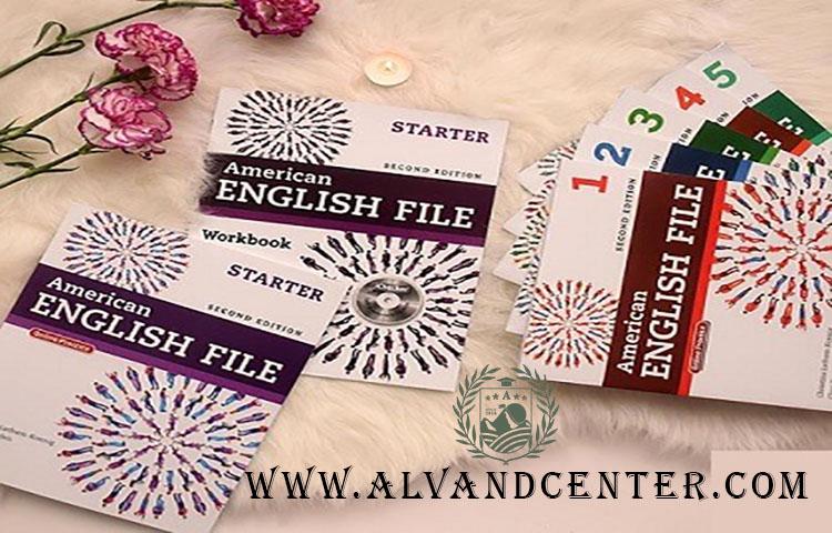 مجموعه کتاب های امریکن انگلیش فایل