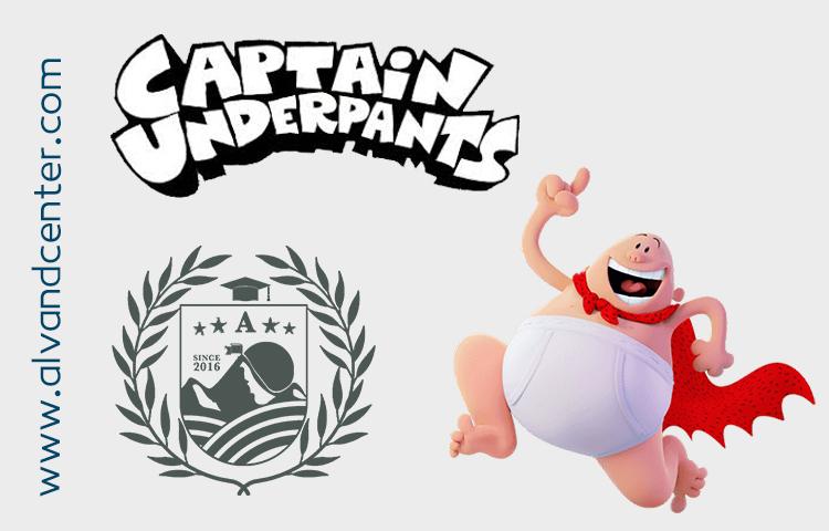 انیمیشنCaptain Underpants تولید شده در سال 2017
